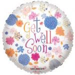 "GET WELL PASTEL BALLOON 18"" 19214-18"